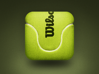 Tennis Ball mobile app icons