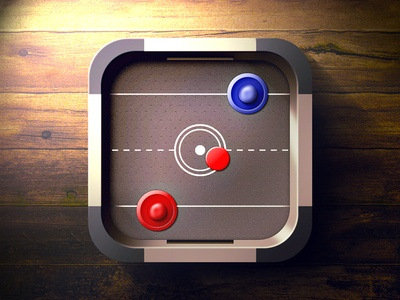Air Hockey mobile app icons