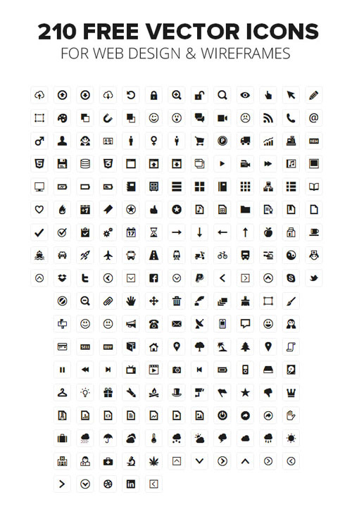 Minicons Free Vector Icons Pack Vector Graphics