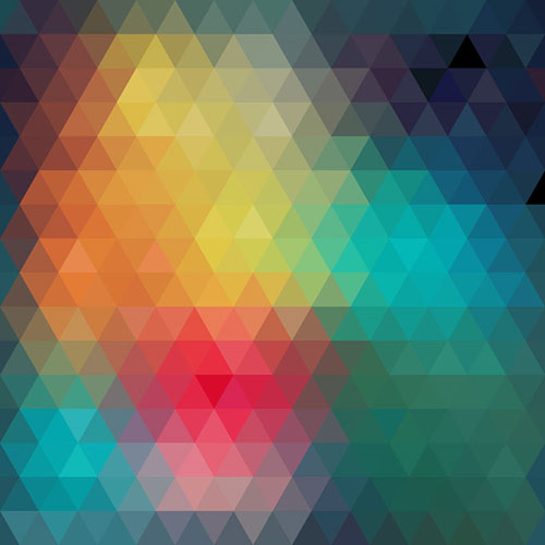 Abstract Pixelated Background Vector Graphics