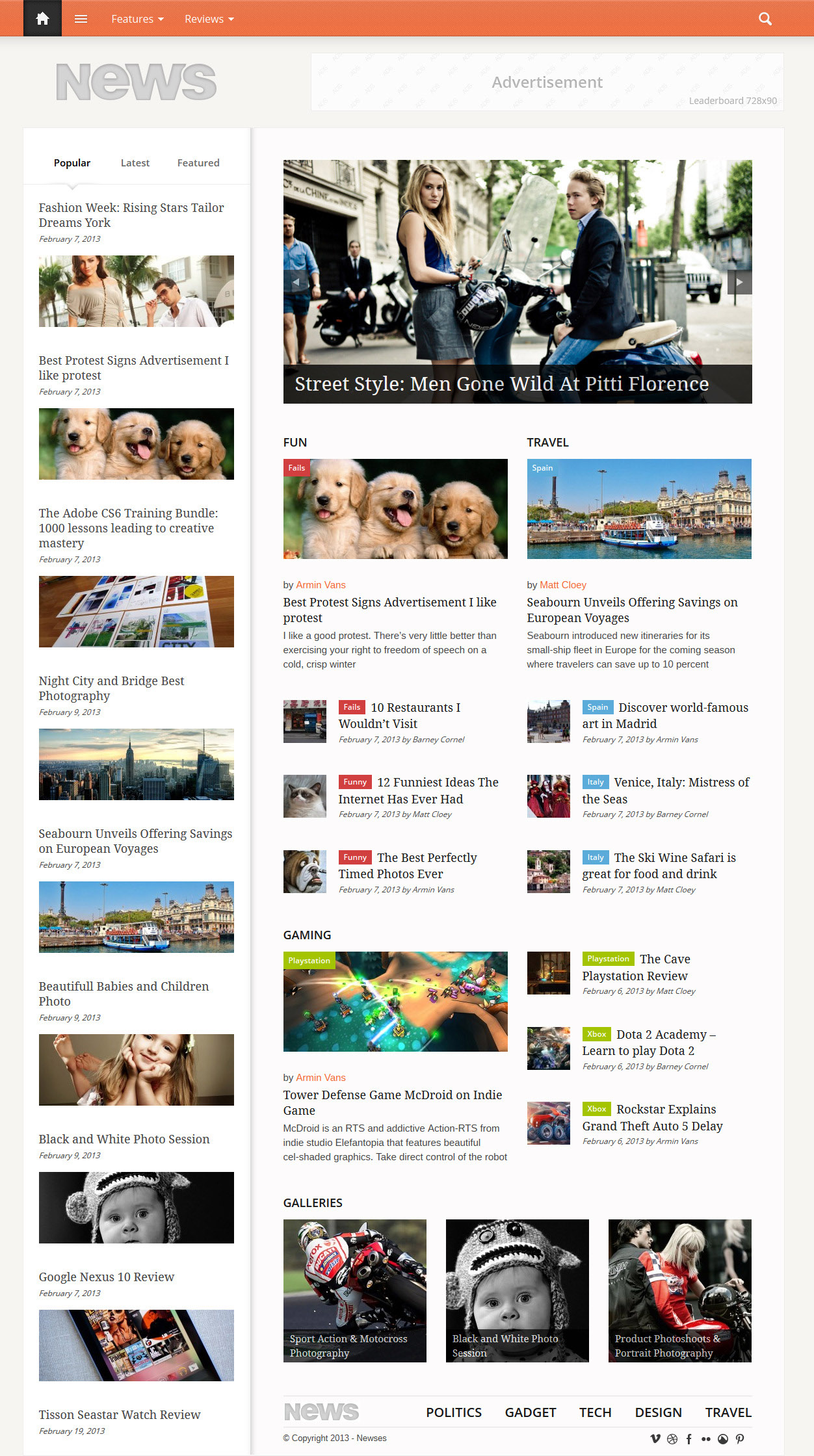 Fresh News Magazine Responsive Wordpress Themes Wordpress Themes Graphic Design Junction