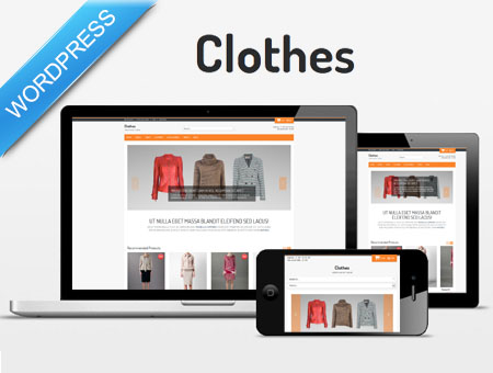 Brand Clothes Shop WordPress Them