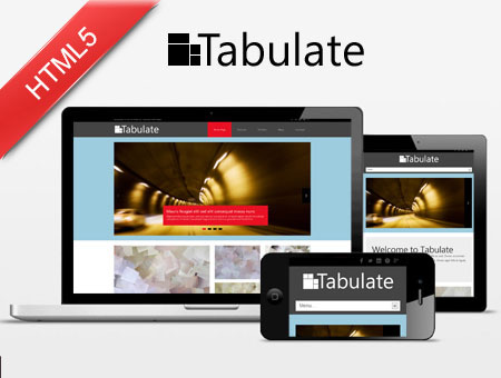 Tabulate – Metro UI Style HTML5 Bootstrap Web Template