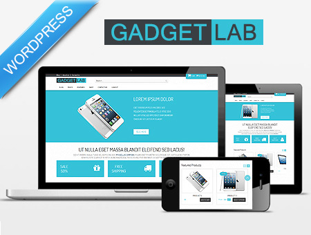 Gadgetlab – Responsive Ecommerce WordPress Theme