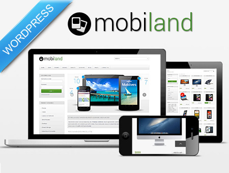 Mobiland – WordPress E-commerce Gadgets Shop Theme