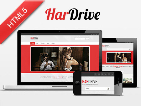 Hardrive – Professional Responsive Web Template