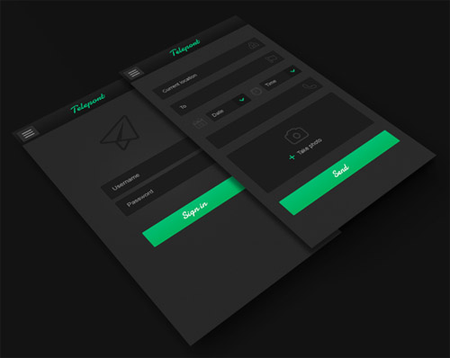 Flat Mobile UI Design and UX-44