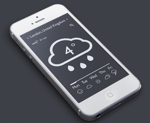 Flat Mobile UI Design and UX-48