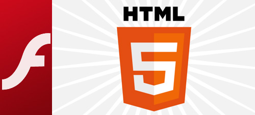 Less Flash And More HTML5 And JS