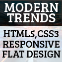 Post Thumbnail of Modern trends: HTML5, CSS3, Responsive and Flat design