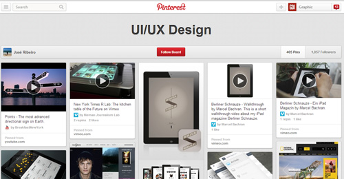 Best UIUX Pinterest Boards Must Follow-10