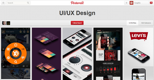 Best UIUX Pinterest Boards Must Follow-12