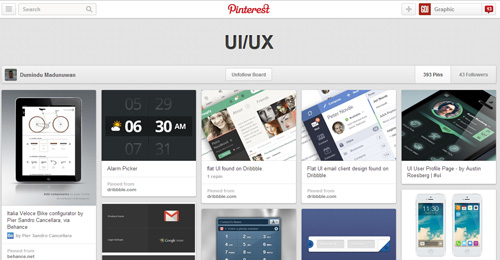 Best UIUX Pinterest Boards Must Follow-14