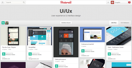 Best UIUX Pinterest Boards Must Follow-18