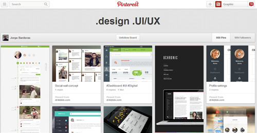 Best UIUX Pinterest Boards Must Follow-20