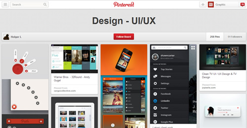 Best UIUX Pinterest Boards Must Follow-24