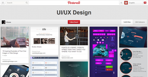 Best UIUX Pinterest Boards Must Follow-28