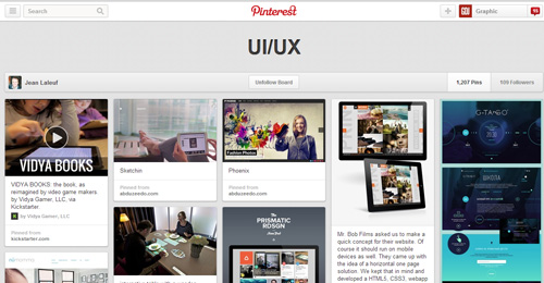 Best UIUX Pinterest Boards Must Follow-30