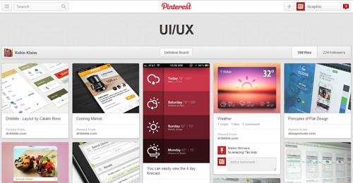 Best UIUX Pinterest Boards Must Follow-4