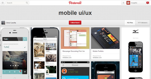 Best UIUX Pinterest Boards Must Follow-5