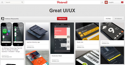 Best UIUX Pinterest Boards Must Follow-6