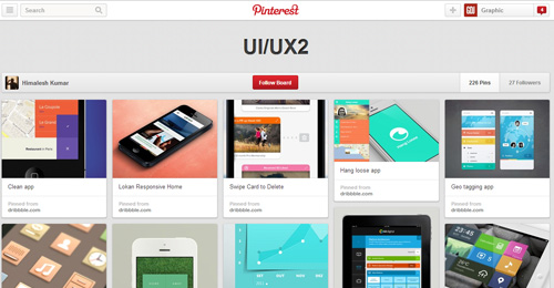 Best UIUX Pinterest Boards Must Follow-7