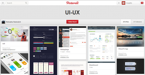 Best UIUX Pinterest Boards Must Follow-8