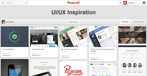 Best UIUX Pinterest Boards Must Follow-9