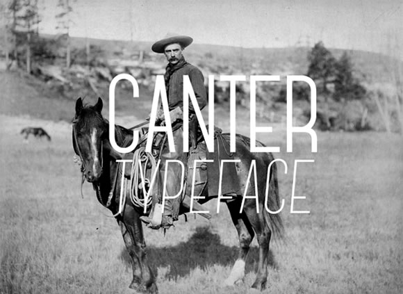 Canter Typeface