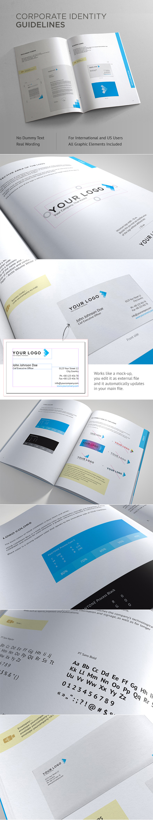 Corporate Identity Guidelines Brochure