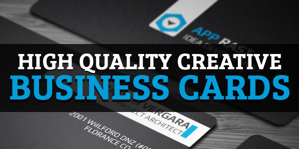 25 High Quality Creative Business Cards