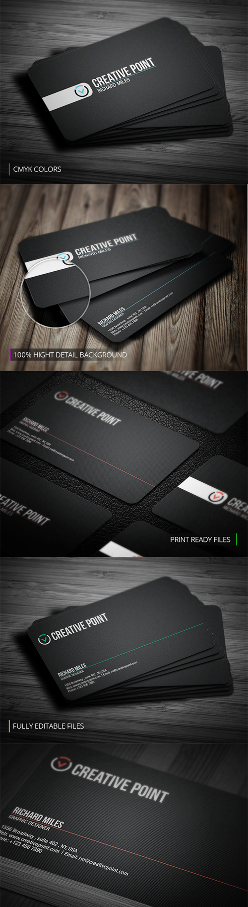 Creative Point Business Card