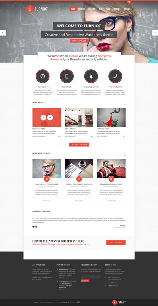 Furniot - Responsive Multi-Purpose WordPress Theme