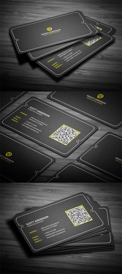 Rounded Modern Business Card