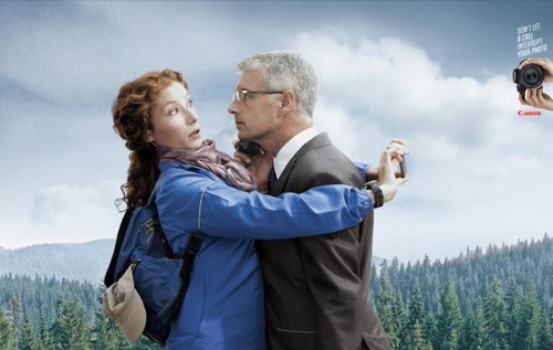 Canon EOS: Forest Advertising Poster-27