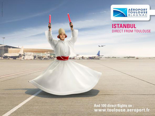 Toulouse Airport: Istanbul Advertising Poster-29