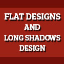 Post Thumbnail of Flat Designs and Long Shadows Design