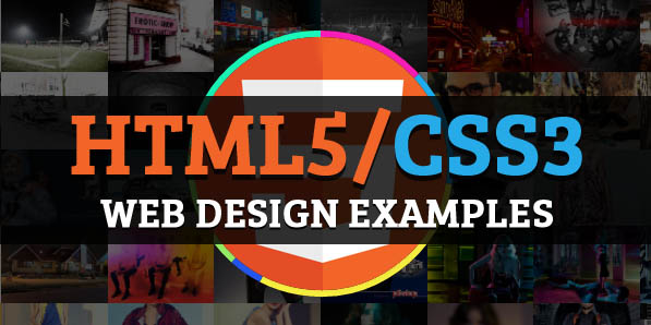 32 HTML5/CSS3 Web Design Examples for Inspiration