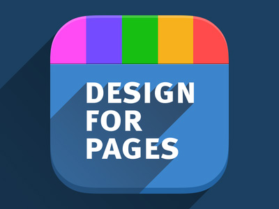 iOS7 App icon for Design For Pages