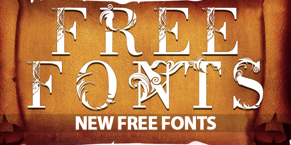 12 New Free Fonts For Graphic Designers
