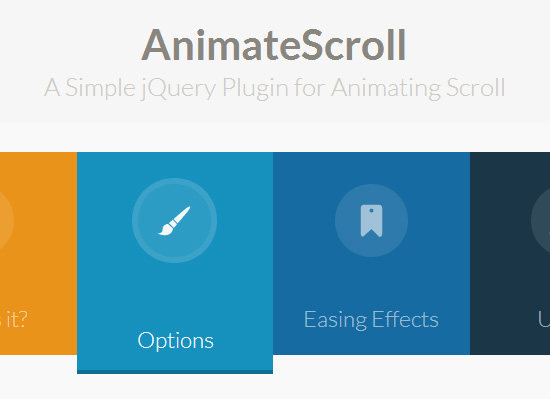 jQuery Plugin for Animating Scroll