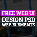 Post thumbnail of 25 Free Web UI Design PSD Web Elements