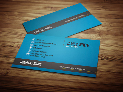Custom Card Template design a business card : Modern Business Cards : Design : Graphic Design Junction