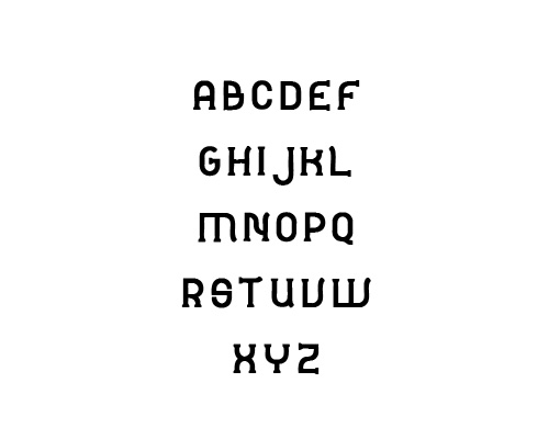 Monorail Free Font Typography / Lettering