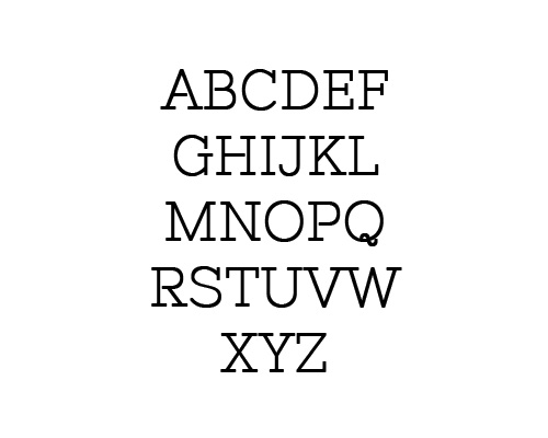 Nixie One Free Font Typography / Lettering