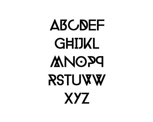 Phantom Free Font Typography / Lettering