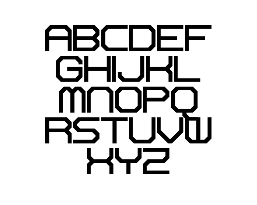 Reactor Sans Free Font Typography / Lettering