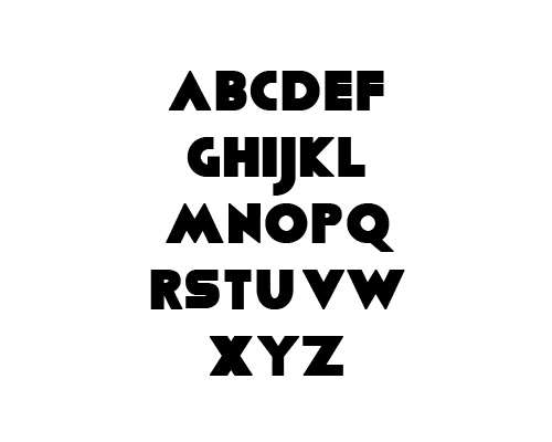 Viafont Free Font Typography / Lettering