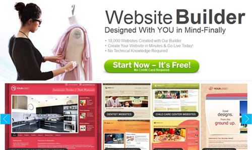 WebStartToday website builder