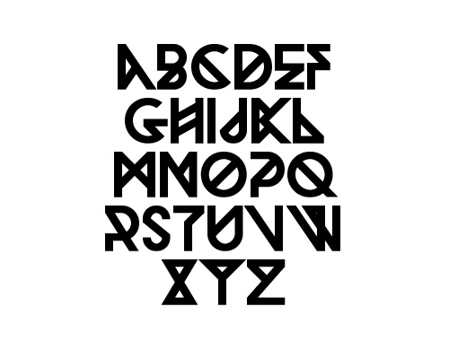 Woodwarrior Free Font Typography / Lettering